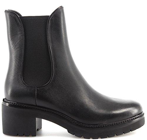 Women's Shoe Heel Boots MICHAEL KORS Noah Bootie Leather 40F7NHME8L Black New