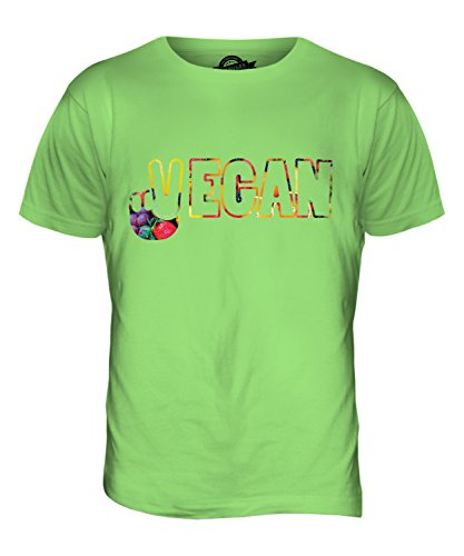 CandyMix Vegan Cnd Symbol Herren T Shirt Limettengrün