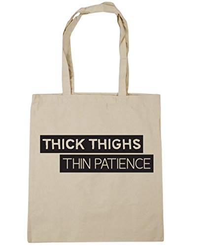hippowarehouse-thick-thighs-thin-patience-tote-shopping-gym-beach-bag-42cm-x38cm-10-litres