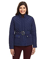 United Colors of Benetton Womens Jacket (16A2SG6D6605IA1938_Royal Blue)