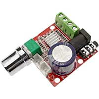 BeMatik - 10W + 10W Audioverstärker. Klasse D2. DIY. DC12V. Modell DW-0183