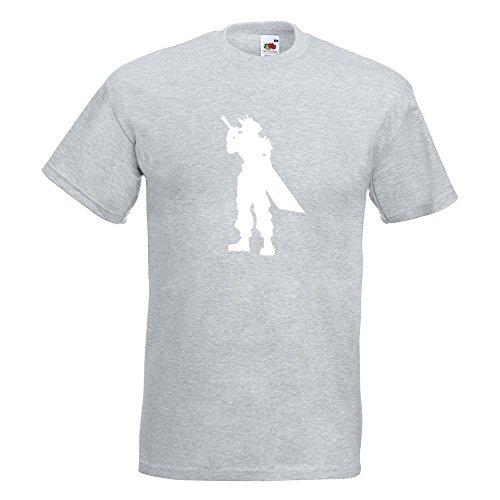 KIWISTAR - RPG Hero T-Shirt in 15 verschiedenen Farben - Herren Funshirt bedruckt Design Sprüche Spruch Motive Oberteil Baumwolle Print Größe S M L XL XXL Graumeliert