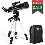 INTEY Ultra-Clear Telescope Portable Astronomy Telescope Trusted Refractor Telescope for Entry-level Astronomers