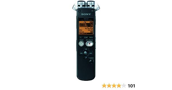 Sony Icd Sx712 Diktiergerät Schwarz Bürobedarf Schreibwaren