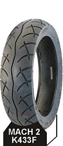 KENDA Couverture Mach 2 K433F 120-80-14 Tyre K433F 120-80-14 Mach 2