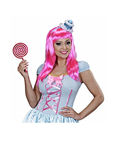 XL Lollypop pink/weiß (Kostüme Für Candy Erwachsene)