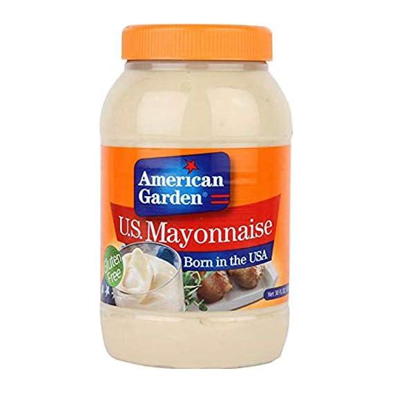 American Garden U.S Mayonnaise Gluten Free 887ml