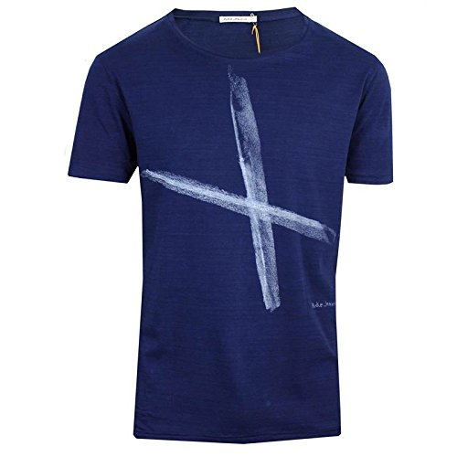 nudie-jeans-ove-chalk-mens-blue-t-shirt-m