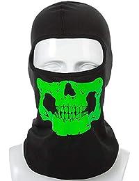 YiyiLai Masque Anti Vent Cagoule Moto Cyclisme Protection Tête Visage Tour  de Cou Multifonction a8e39a23d47