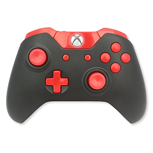 Xbox One Modded Controller Black And Red Xbox 1 Master Mod Includes Rapid Fire, Drop Shot, Quick Scope, Sniper Breath, And More Works For Call Of Duty Black Ops Iii 41XeG65HYTL