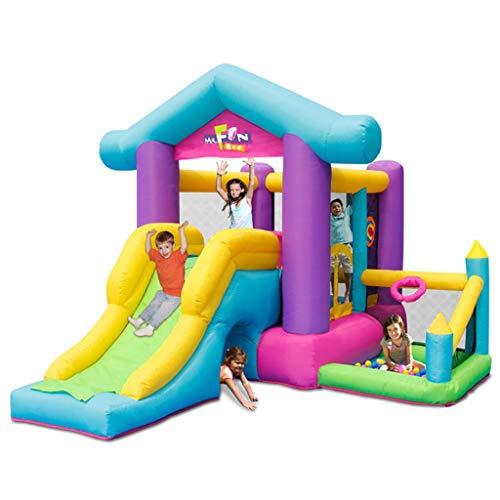 Bouncy Castles Sports Toys Children's Indoor Castle Inflatable Children's Playground Summer Home Playground Inflatable Slide Children's Inflatable Trampoline Children's Inflatable Play Fence