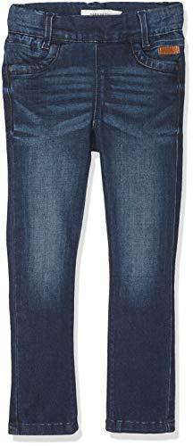 NAME IT Mädchen NITTONJA Skinny Legging DNM NMT NOOS Hose, Blau (Dark Blue Denim), (Herstellergröße:134)