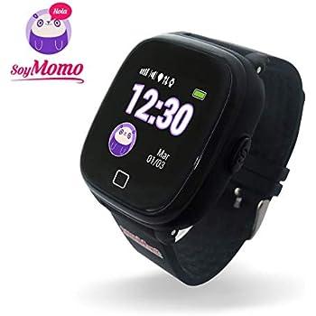 SoyMomo H2O Reloj Inteligente para Niños con GPS y Botón SOS, Móvil para niños con Ranura para SIM Que Permite Llamadas y Mensajes, Smartwatch para Niños ...