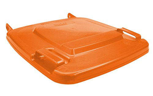Sulo Mülltonnendeckel Deckel Mülltonne Ersatzdeckel Orange MGB 120 - Made in Germany -