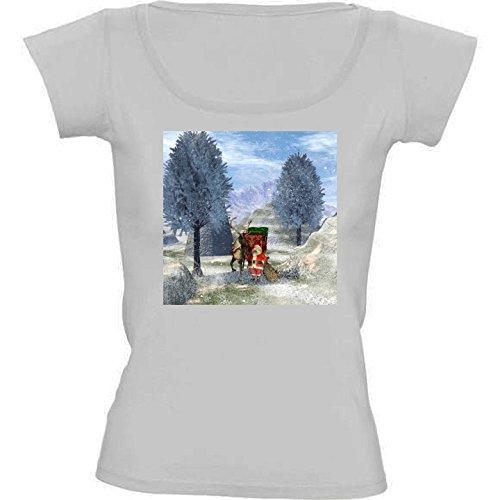 camiseta-blanca-con-cuello-redondo-para-mujeres-tamao-s-de-santa-calus-by-nicky2342