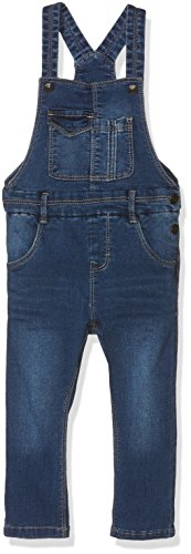 NAME IT Mädchen Latzhose Nitciti Reg/Slim Dnm Overall MZ, Blau (Medium Blue Denim), 80