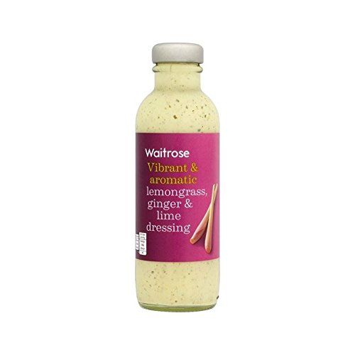 Vinaigrette À La Citronnelle, Le Gingembre Et Lime Waitrose 235Ml - Paquet de 6