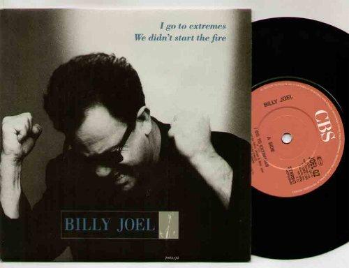 """BILLY JOEL - I GO TO EXTREMES - 7"""" VINYL, usato usato  Spedito ovunque in Italia"""