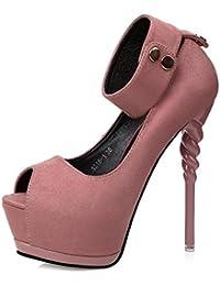 Amazon Zapatos Y es De Complementos Tacón OzTwxBOq1