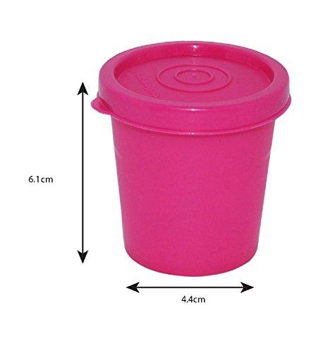 Cello Max Fresh Nano Polypropylene Container, 100ml, Pink