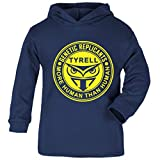 Cloud City 7 Blade Runner Tyrell Replicants Logo Baby and Kids Hooded Sweatshirt