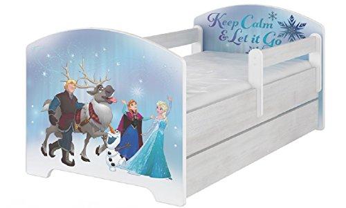 Bellissimo lettino per bambini della collezione disney frozen