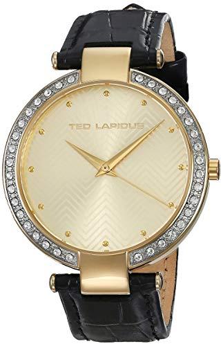 Ted Lapidus Femme Montre avec Bracelet en Acier Inoxydable A0680BBPX