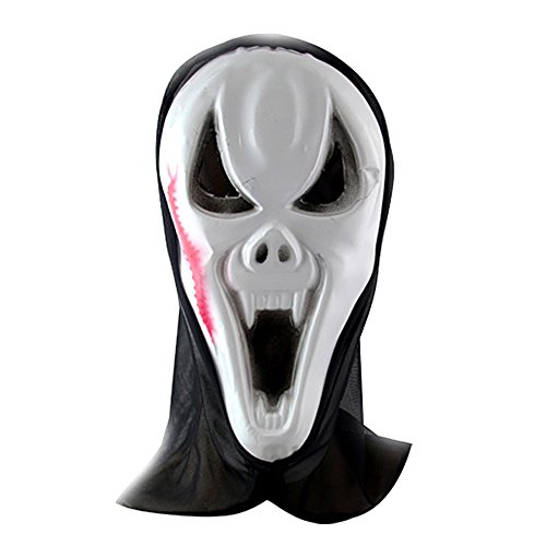 ParttYMask Maskerade,Horror Geistermaske Vampir Vollgesicht Outfit C8 ()