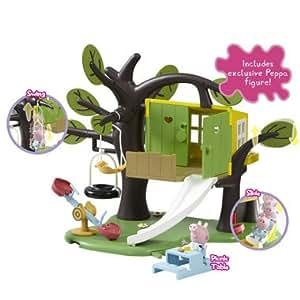 Peppa pig treehouse playset la cabane dans l 39 arbre for Arbre maison jouet