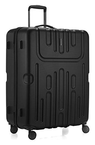 HAUPTSTADTKOFFER - Havel - Hartschalen-Koffer Koffer Trolley Rollkoffer Reisekoffer, TSA, 73 cm, 111 Liter, Schwarz - 6