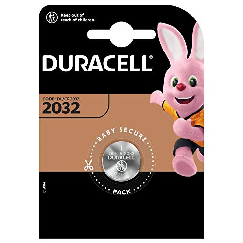 Duracell DL/CR2032 - Batterien (Lithium, Button/Coin, 3 V) Silber