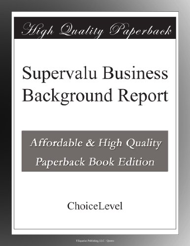 supervalu-business-background-report