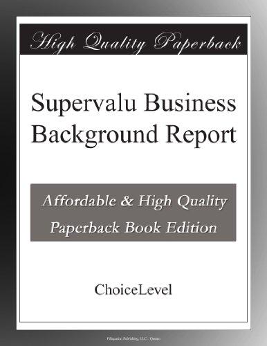 supervalu-business-background-report