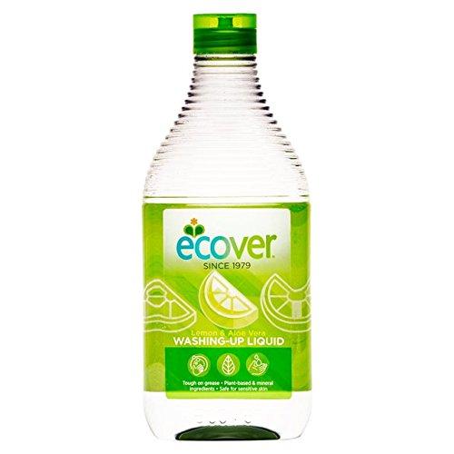 Ecover Ökologisches Geschirrspülmittel Zitrone und Aloe Vera, 6er Pack (6 x 500 ml) -