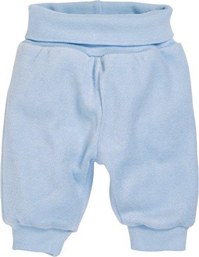 Schnizler Baby-Jungen Hose Nicki Jogginghose, Babyhose mit elastischem Bauchumschlag, Oeko-Tex Standard 100, Blau (bleu 17), 50