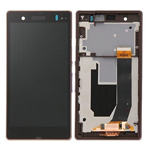 Ersatzteile, iPartsBuy LCD-Display + Touch Screen Digitizer Assembly mit Rahmen Ersatz für Sony Xperia Z / L36H / C6603 / C6602 ( Farbe : Violett )