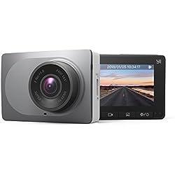 YI Dash Cam Telecamera per Auto 1080P Alta Risoluzione HD, WiFi Integrata, Grandangolo di 165° - Registrazione di Guida DVR con Visione Notturna