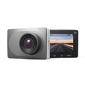 cámara gran angular: Yi Dash Camera YI-89006 - Cámara auto, DVR, 1080P, 60FPS, batería incorporada de...