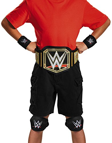 Disguise WWE Champion Kit Child WWE Costume, One Size Child, One Color by Disguise
