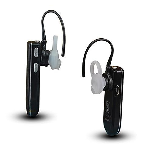 Sunydeal Universel Bluetooth stéréo écouteurs sans fil Headset v 3.0 avec microphone intégré pour iPhone, Samsung, LG, PC portable et un autre périphérique Bluetooth