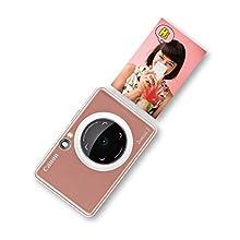 Canon Zoemini S - Fotocamera istantanea, Oro rosa