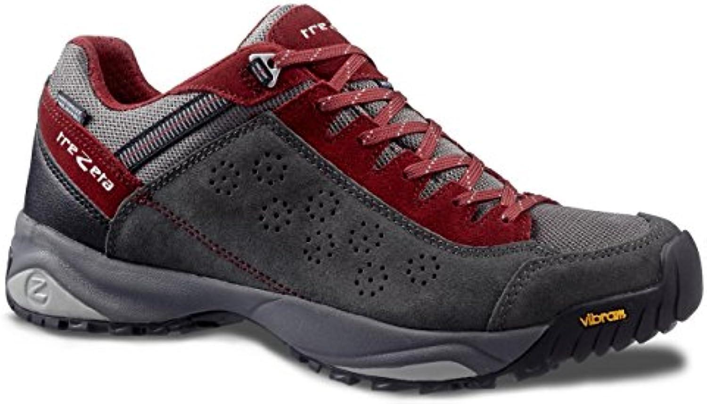 Trezeta Shoes Men Indigo WP Anthracite Deep Red, hombre, Anthracite-Deep-Red, 41 EU