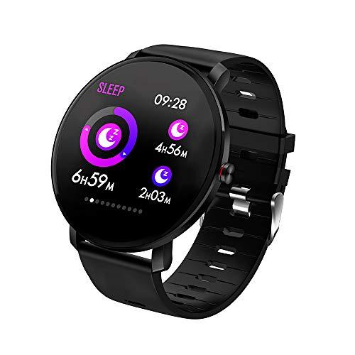 Lepeuxi SENBONO K9 Smart Watch Display IPS da 1,30' IP68 Impermeabile BT4.0 Timer Fitness Pedometro Distanza Calorie Frequenza...