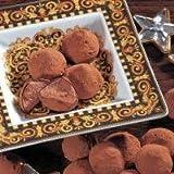 Belgische Cacao-Trufflés Kakao-Konfekt. Ein herrliches