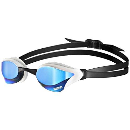 Arena Erwachsene Unisex Wettkampf Cobra Core Mirror Schwimmbrille, Blue/White, One Size