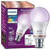 Philips Smart Wi-Fi LED bulb B22 9-Watt WiZ Connected (Pack of 1)