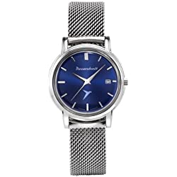 Unisex Quartz Watch with Milanese bracelet and Swiss made movement Messerschmitt, KR200-Bmil