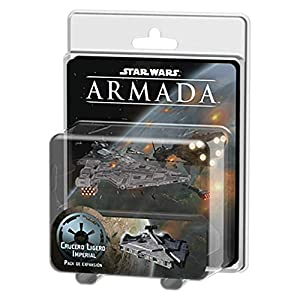 Fantasy Flight Games- Star Wars Armada: Crucero Ligero Imperial - Español, Color (FFSWM22)