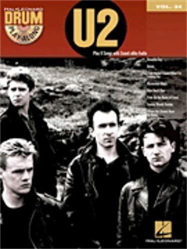 Drum Play-Along Volume 34: U2 (Book/CD). For Batteria