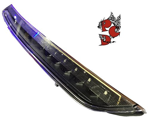 Preisvergleich Produktbild LED Bremsleuchte schwarz Klarglas Bremslicht Zusatzbremsleuchte BLATT8J